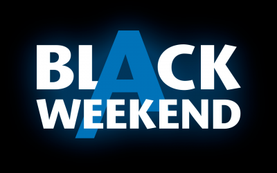 Black Weekend: –20% sur tout !